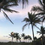 Miami Beach Boardwalk Foto