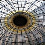 Glasdach in der Lobby