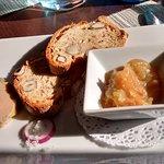 Foie gras et sa compote d'oignons