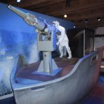 whaling display