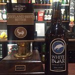 Craft beers and ales available at The Three Tuns