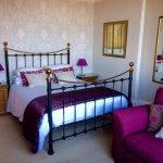 Room one, Charlotte. Delightful room looking over garden.King bed with en-suite shower
