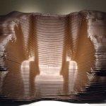 """Maarten Baas """"200-year old chair"""" project."""