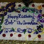 My Italian Rum Birthday Cake from Gerardo's, February, 2016