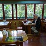 Cafeteria at the La Casones.