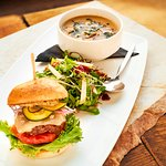 Soup, Salad and Slider - $10 Lunch