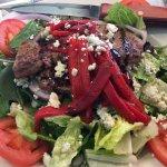 Roadhouse steak salad