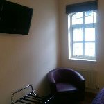 tv and window area