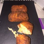 Ham and Cheese Croquettes @ Caffe Lunatico, Cartagena, Colombia