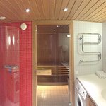 Shower Room with Sauna