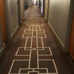 Nice modern hallway