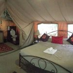 Tent with king size bed