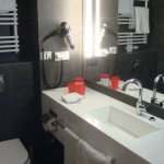 Washstand in toilet and shower room