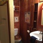 Bathroom in Santa Fe Suite- not huge but just fine
