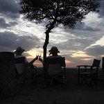 Last sunset in Africa