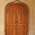 Une des portes intérieures