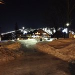 Night skiing available