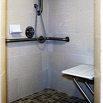 Walk In Shower on Select Rooms