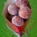 Try our homemade delicious donuts !!!!