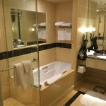 Separate bathtub, and Stand-up shower