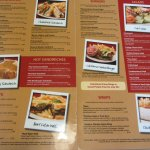 Jim's Menu - Lunch Options