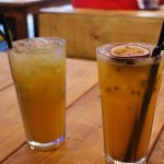 Cinnamon Ginger Beer and Passion Fruit Cooler <3