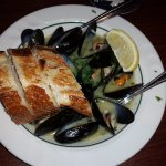 Delicious Steamed Mussles