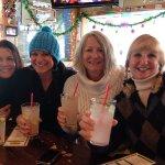 Our celebrating drink w ginger & vodka ummmmmm!