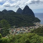 Pitons on St. Lucia