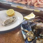 Oysters and mussels