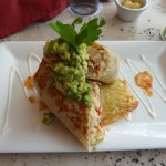 The magnificent Sunrise Burrito at Daiquiri Dick's