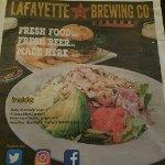 Lafayette Brewing Co. menu & story