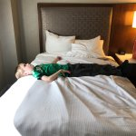 """A queen bed is not a queen bed. My son measured today: 53"""""""