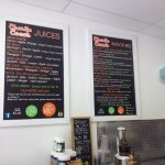 Vegan juices and smoothies