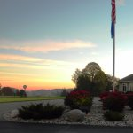 The sun rises on another day at the BCC.