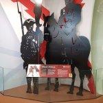 exhibit in the visitors center