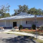 The visitors center