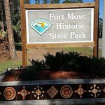 Entrance to Fort Mose