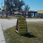 Entrance off Beach Road