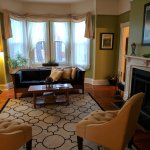 Front parlor/common room at Waypoint House B&B