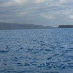 Molokini crater from southern Maui