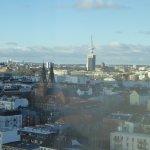 Вид из отеля. Сьют Новотель Хамбург Сити