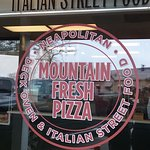 Mountain Fresh Pizza inside Mountain Fresh Grocery