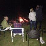 Friday night bonfire
