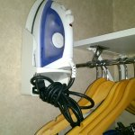 Clothes Iron in closet