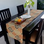 Kitchen table with welcome fruit