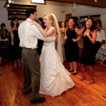 First dance in a wedding celebration in Reception Gallery at Inn