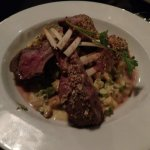 Pumpkin Seed Encrusted Rack of Lamb