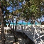 walkway to the most beautiful beach