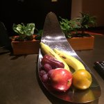 Fruit Plate Upon Arrival!